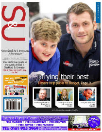 Streford & Urmston Advertiser front page image