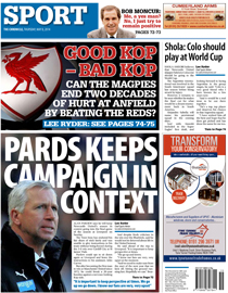 Chronicle back page image