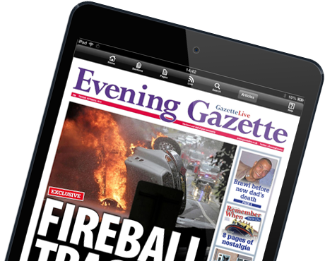Evening Gazette E-Edition for iPad and Android tablets