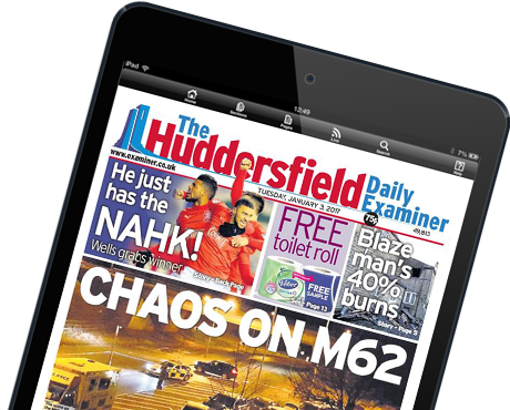Huddersfield Examiner E-Edition for iPad and Android tablets