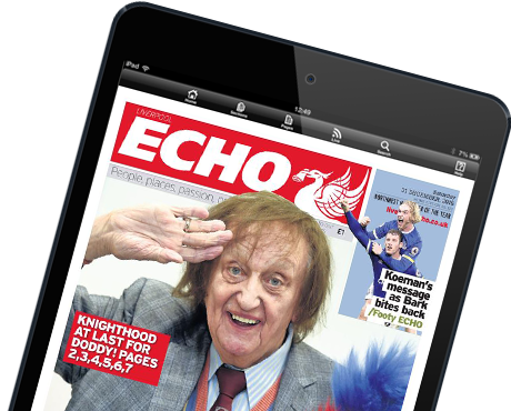Liverpool Echo E-Edition for iPad and Android tablets