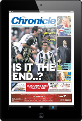 Download the Chronicle E-Edition for iPad and Android tablets