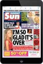 Download the Sunday Sun E-Edition for iPad, Android, and Kindle tablets