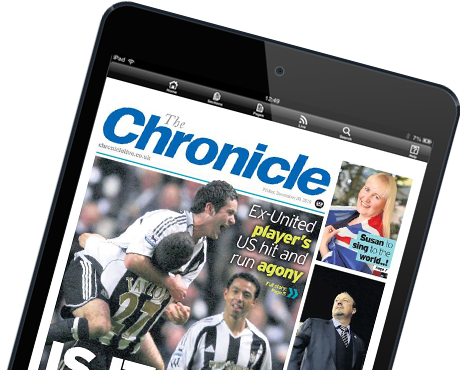 The Chronicle E-Edition for iPad and Android tablets