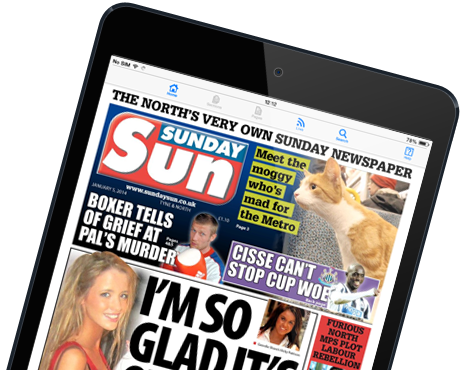 Download the Sunday Sun E-Edition for iPad and Android tablets
