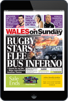 Download the Wales on Sunday E-Edition for iPad and Android tablets